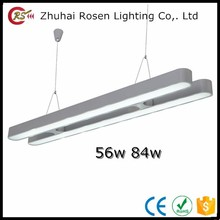 Hot sell AC85-265V aluminum white 56w 84w double led ceiling panel light