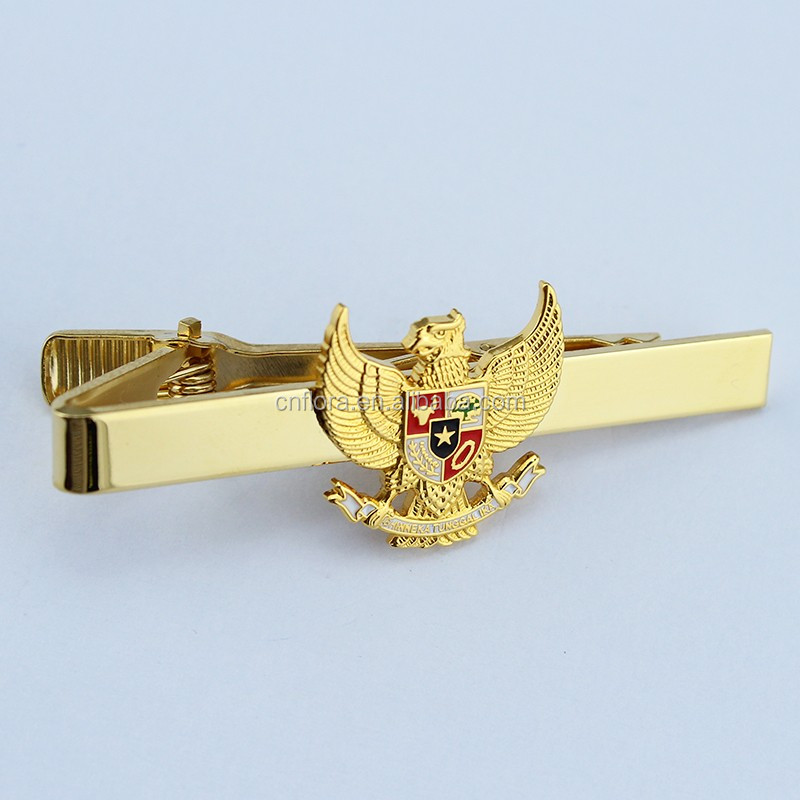 2018 new special custom copper police commemorative tie clip