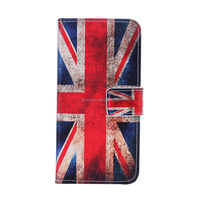 New product Card Holder Flip Flag of UK Wallet PU Leather Case For iPhone 6 4.7 inch