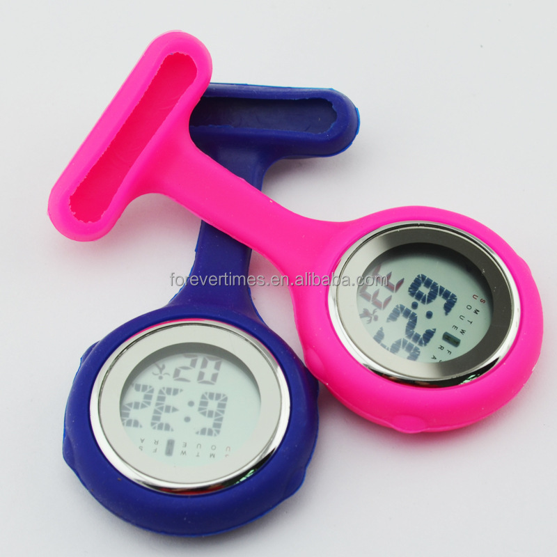 multi function digital silicone rubber fob brooch