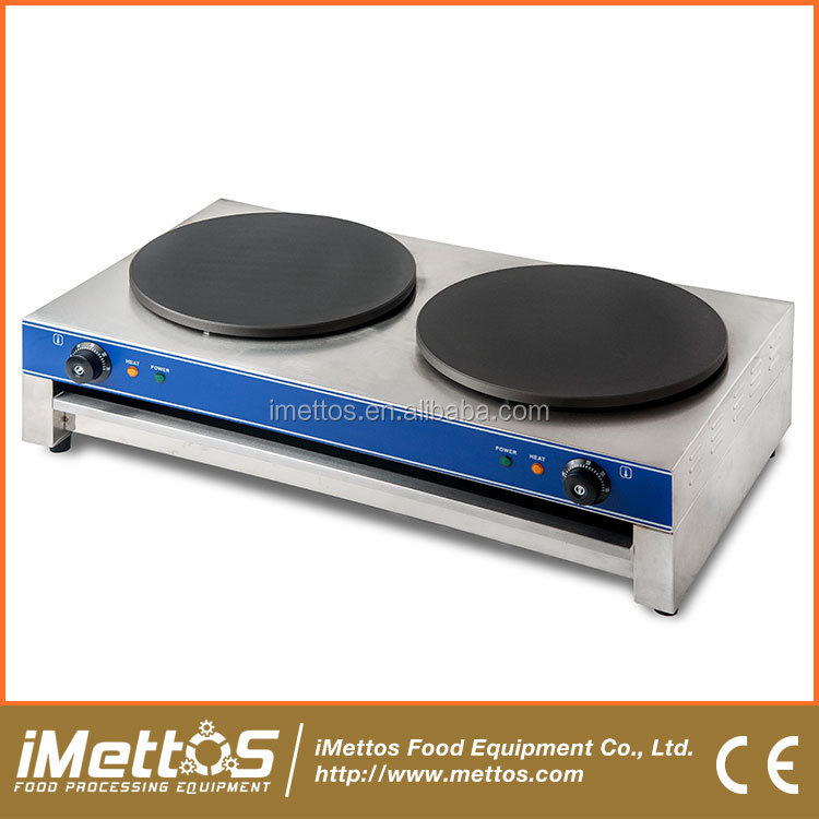iMettos 3KW Single Head Commercial pancake cooker