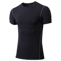 Sublimation Compression Mens Shirts Sports Fitness