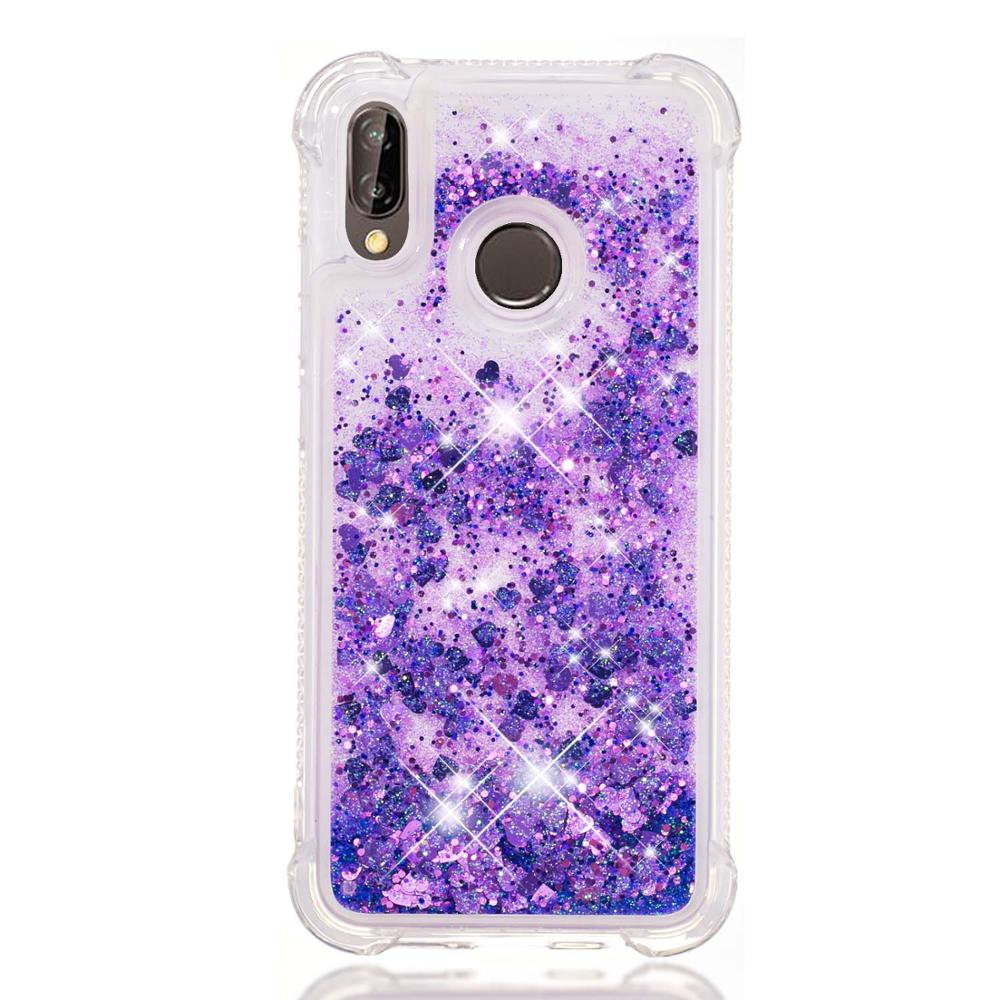 Wholesale Glitter quicksand anti-scratch tpu phone case for Huawei P20 P20lite nova 3e P20 <strong>pro</strong> plus