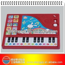 24 Keys recordable Piano Toys Kids microphone Keyboard touchable multi-function electronic organ for Kids Music education