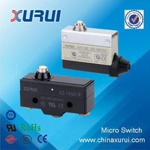 China UL&RoHS approved pin plunger type 10A/250VAC waterproof micro switch 12v