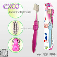 Super soft bristle baby toothbrush, small head feature baby tooth brush