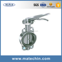 OEM Precision High Quality Sanitary Stainless Steel Butterfly Valve