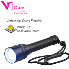 xml t6 led Diving Flashlight Torch Diving Powerful led Flashlight Waterproof Underwater