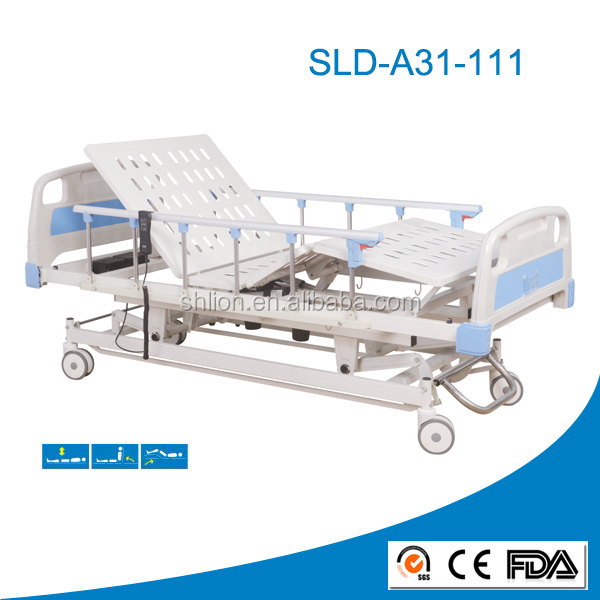 Three Function Electric Hospital Bed Three Function with Linak Actuator