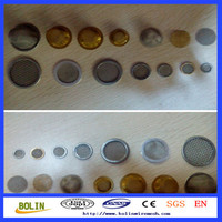 200 Micron Stainless Steel Wire Mesh / Sintered Mesh / Perforated Metal Oil Filter Cap (free sample)