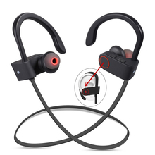 Wireless Bluetooth Headphone V4.1 Sport In-Ear Noise Cancelling Sweatproof Sport Headphones With Mic For Smart Mobile Phones