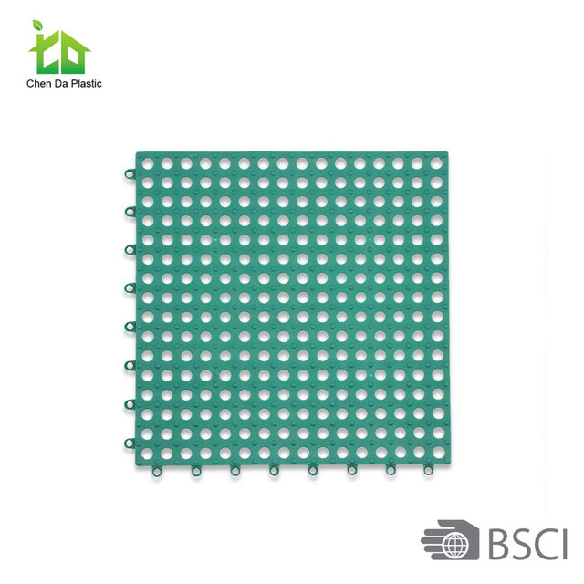 Interlocking polypropylene sheet portable badminton court flooring plastic floor tiles mat