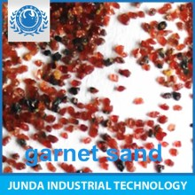 Abrasive material Specific Weight 4.1 g/cm3 garnet 20/40 mesh for railway construction sandblasting