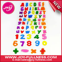 alphabet gel sticker