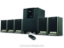 FULL function 5.1 speaker home theater system /5.1 home theater with USB/FM/REMOTE/5.1 sound system