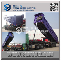 Heavy Duty Transport 3 Axles Tipping