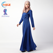 Zakiyyah 039 simple style clothing women solid color abaya dubai muslim dress abaya