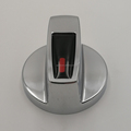Modern fashion electric oven knob in kitchen