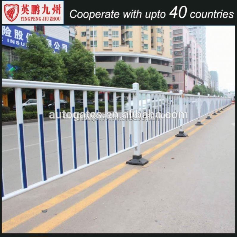 Hot Galvanized Metal Road Safety Barrier/ Steel Guard Rail Made In China