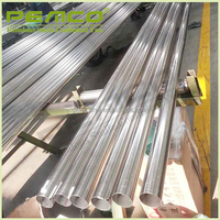 China diameter polished welded perforated stainless large wholesale pipe