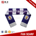 High quality personalized sublimation scarf soccer