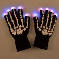 Led Flashing Light Gloves For Christmas gift