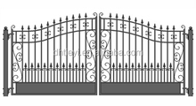 wrought iron front fence gate new models