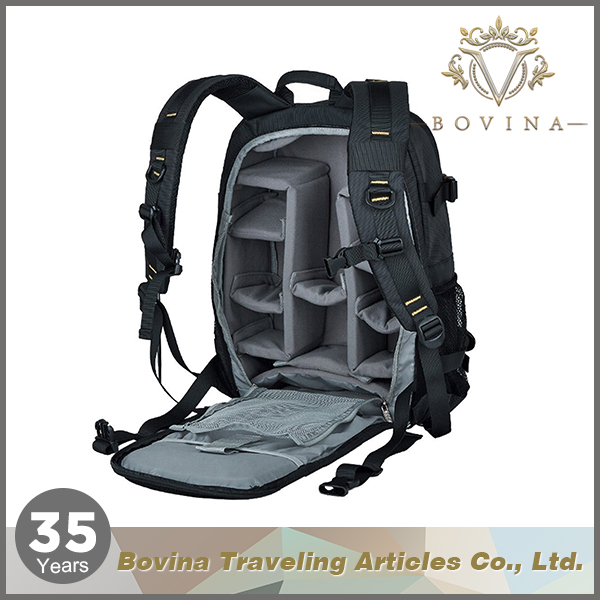 Outdoor sports and traveling digital single lens reflex camera backpack