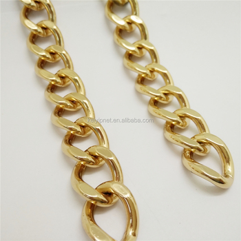 Wholesale Metal Curb Handbag Chain Strap