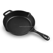 Wholesale Household 12inch Cast iron skillet, cast iron pan, cast iron cookware