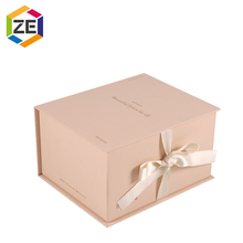 Hot Sale Custom Customized Luxury High Grade Magnetic Perfume Gift Box With Ribbon