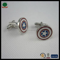 Modern Best-Selling simple stainless steel cufflinks