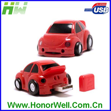 Cool Plastic Automobile usb flash drive no case with Promotional Gift