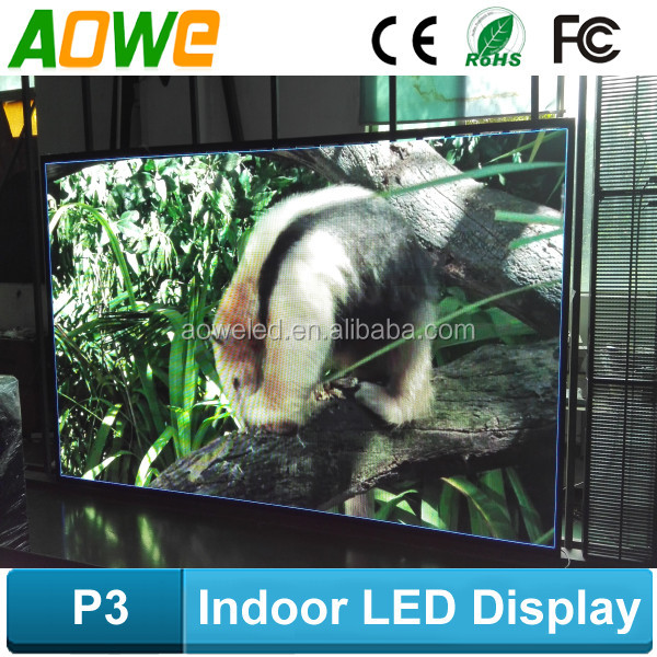 RGB hot sale High definition live show renta P3 l indoor led display 64x32