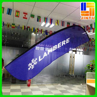 Decorative outdoor flags feather banner largest printing companies