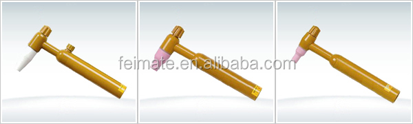 QQ 150A yellow color welding gun torch