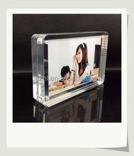 Magnet acrylic imikimi photo frame free with customized base