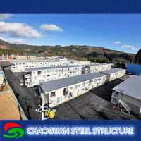 Chinese cheap prefabricated container home site office