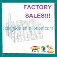 Professional Zine Plated Wire Mesh Mouse Trap Cage---TLD2006