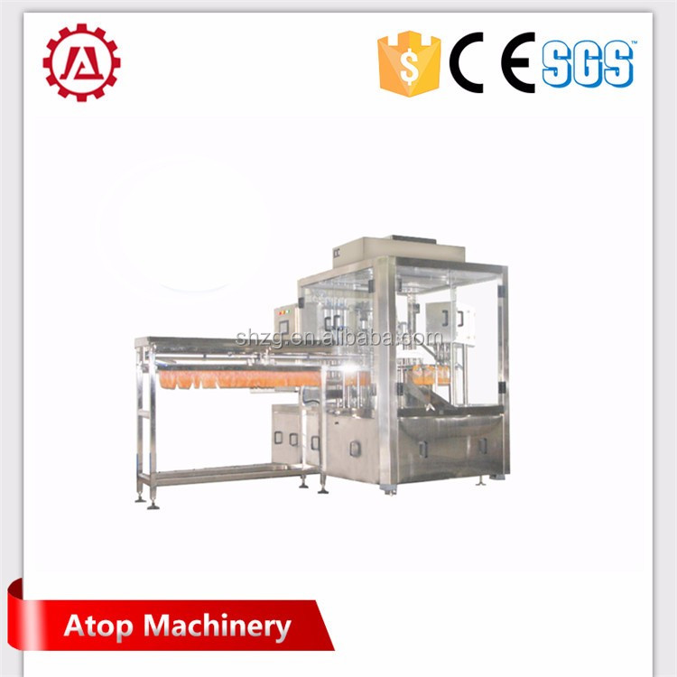 semi-automatic stand up pouch filling machine for granule/hardware/grains(also supply automatic model)