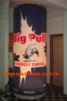 big pull advertising balloon, lighted advertising balloon, inflatable balloon