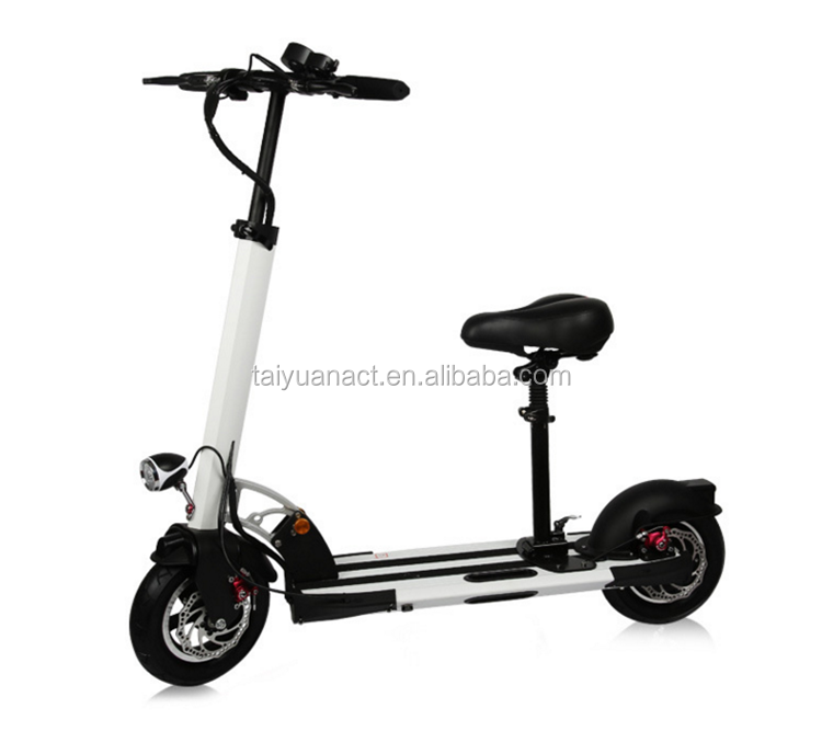 Model number EAC350-2 350W hub motor wheel electric scooter