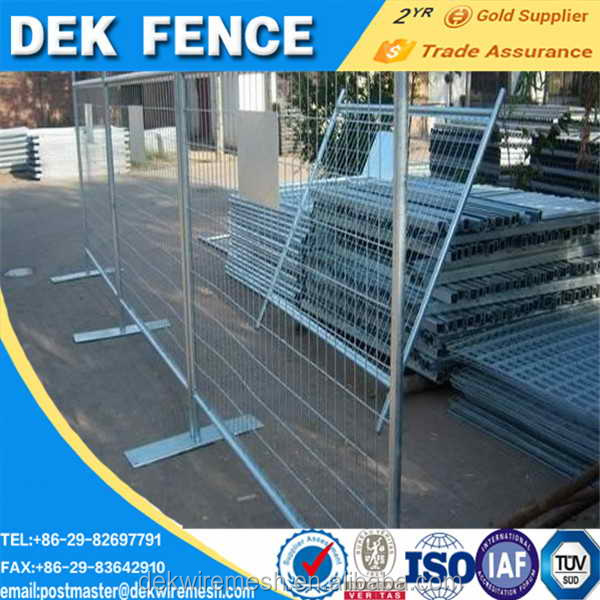 Easy To Install Construction Temporary Fence 6 X10 ft Galvanized Canada Construction Fence Panel