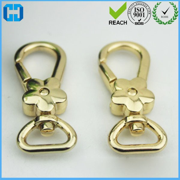 Metal Snap Hook Chain Strap Clasp Connector Clasp Handbag Hardware