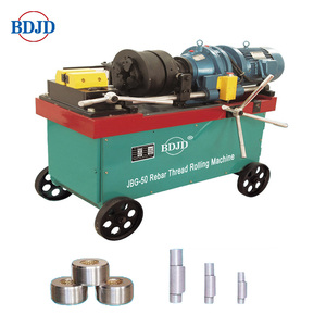 Direct sale electric rebar parallel thread rolling machine