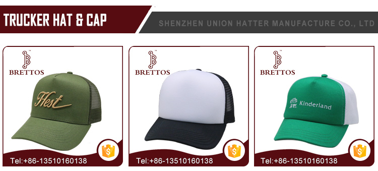 Factory Wholesale Stock Cheap Print Custom Sublimation Mesh Trucker cap