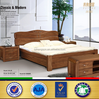 Antique Royal teak wood double bed designs in wood