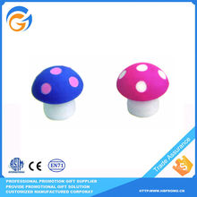 Mushroom Manufacturing Pencil Scented Eraser for Kids