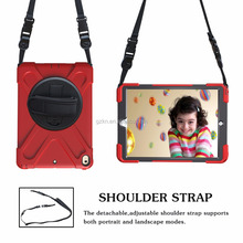 Brandnew shockproof housing for iPad pro 10.5 with stand and shoulder strap