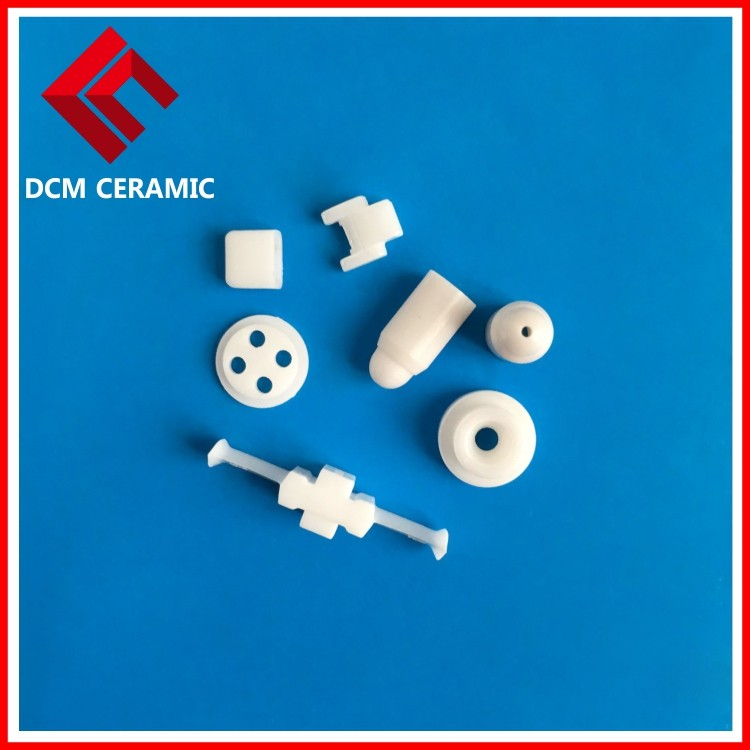 Technical advanced precision ceramic alumina and zirconia parts machining from Shenzhen DCM Ceramic